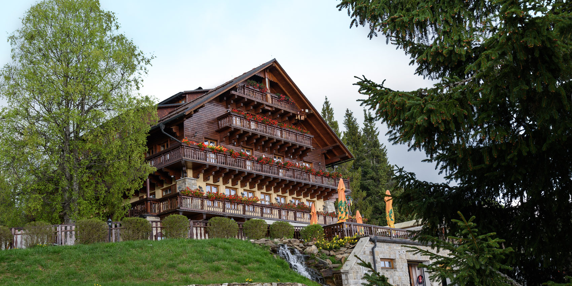 Stylový horský hotel